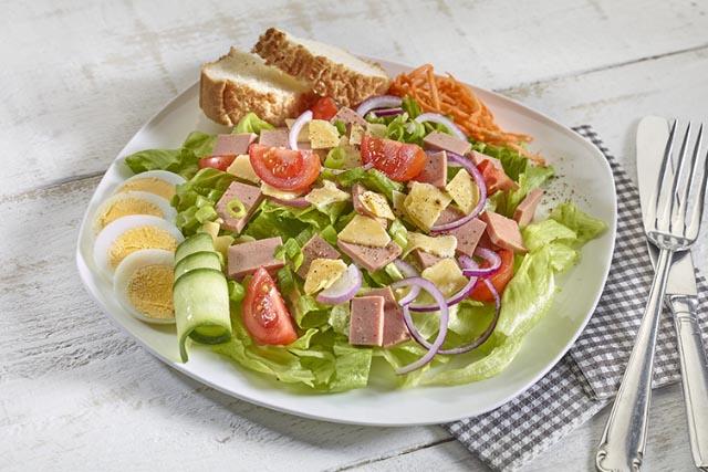salad halal meat